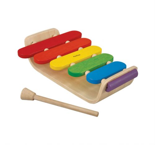 Wooden Oval Xylophone