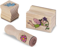Stamp-A-Scene: Fairy Garden (26 Wooden Stamps & More!)