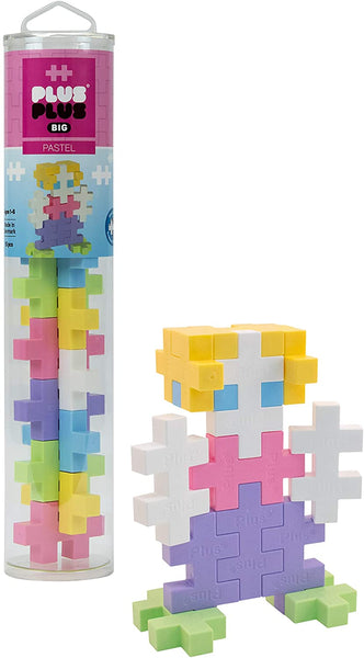 Plus Plug Big: Pastel 15pc