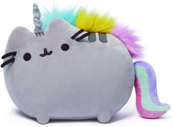 Stuffed Pusheen Rainbow Unicorn, 13""