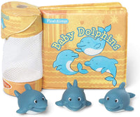 Bath Book: Baby Dolphins