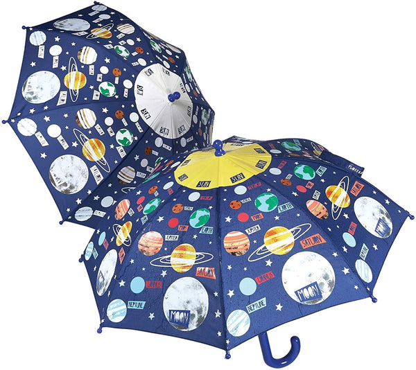 Color Changing Umbrella: Planets/Universe