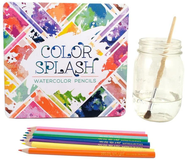 Color Splash: Watercolor Pencils