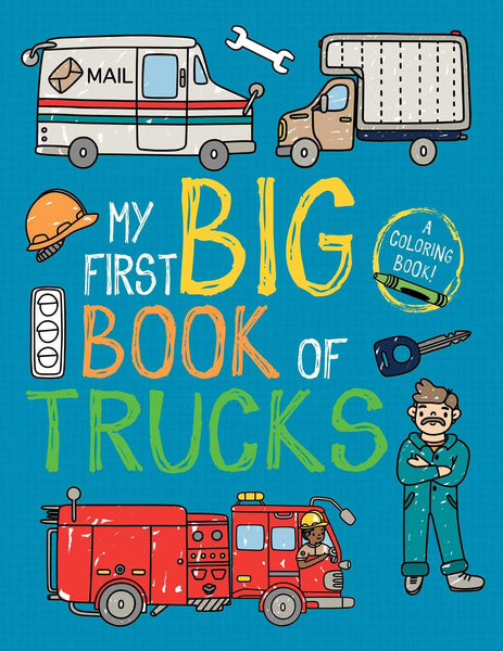 My First Big Book of Trucks Coloring Book