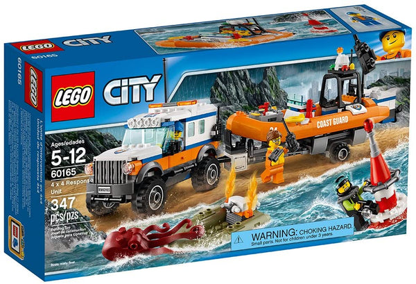 Lego City: Coast Guard 4 x 4 Response Unit