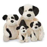 Bashful Black & Cream Puppy (Multiple Sizes)