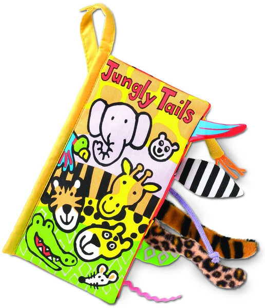 Soft Cloth Baby Books, Jungly Tails