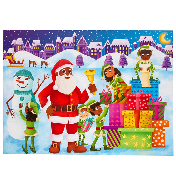 Advent Calendar: Countdown To Christmas with Stickers
