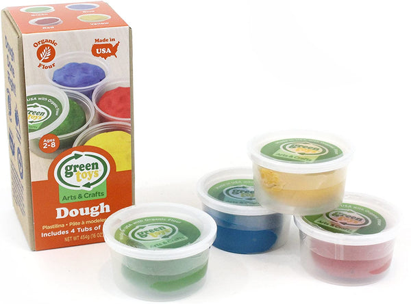 Green Toys Dough, 4-Pack