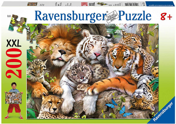 Big Cat Nap 200pc Puzzle (ages 8+)