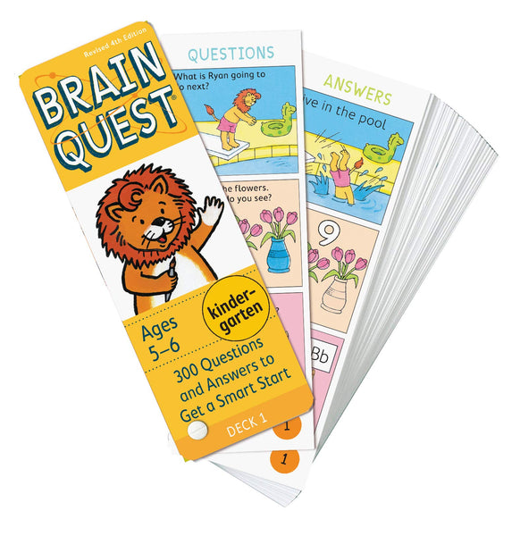Brainquest Flash Cards: Kindergarten