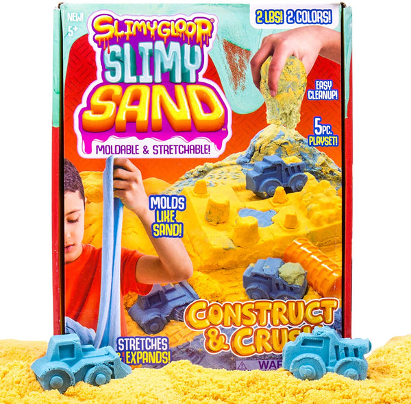 Slimy Sand Construct and Crush Kit