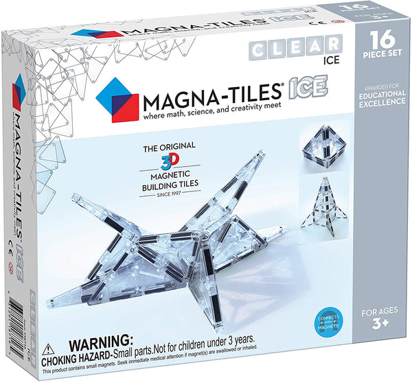 Magna-Tiles 16-Piece Ice Set