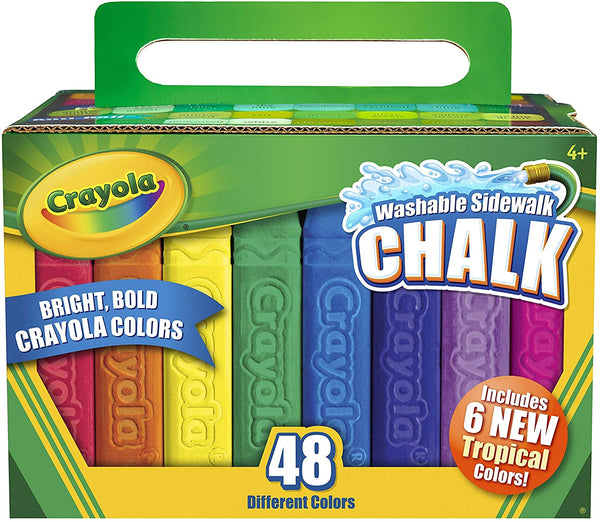 Sidewalk Chalk, Set of 48