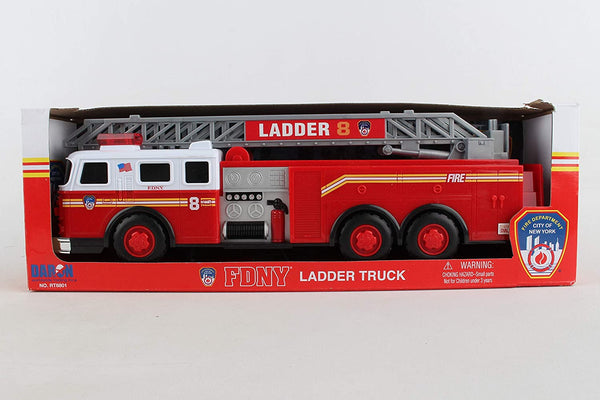 FDNY Ladder Truck with Lights and Sounds