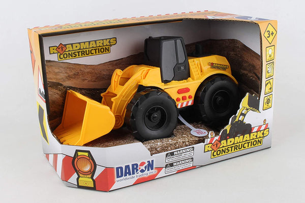 Roadmarks Construction: Wheel Loader w/ Lights & Sounds