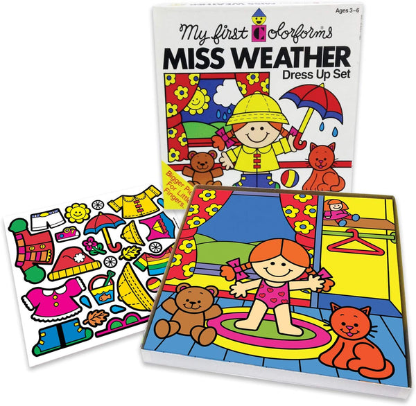 Colorforms: Miss Weather