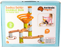 Bamboo Builder Marble Run, 78 piece set