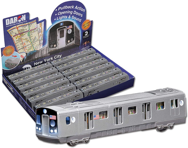 MTA Pullback Subway Car