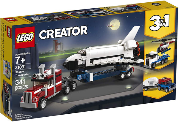 Lego Creator: 3-in-1 Shuttle Transporter