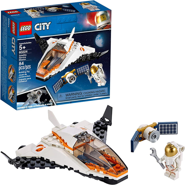 Lego City: Satellite Service Mission