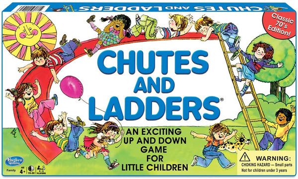 Classic Chutes & Ladders Board Game