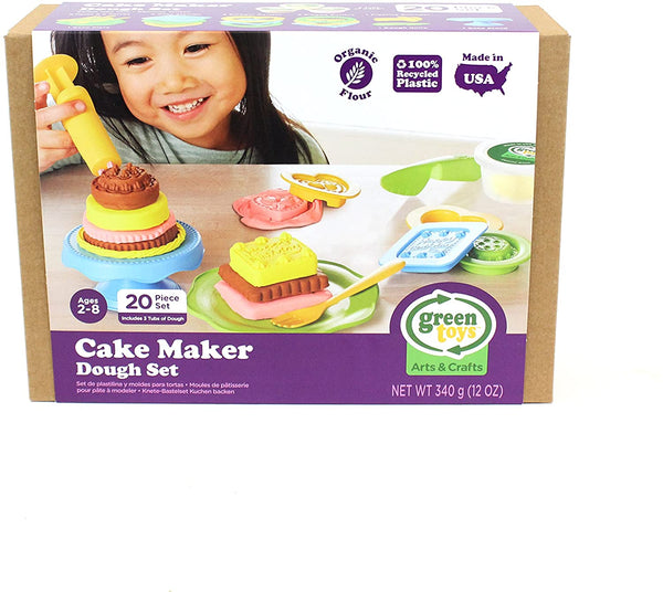 Green Toys: Cake Maker Dough Set
