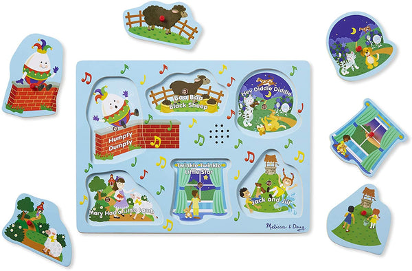 Nursery Rhymes 6pc Sound Puzzle