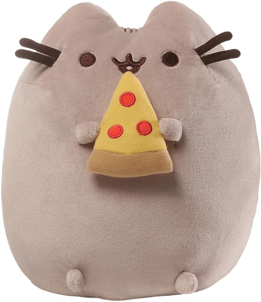 Stuffed Pusheen with Pizza, 9.5""