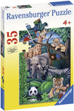 Animal Kingdom 35pc Puzzle (ages 4+)