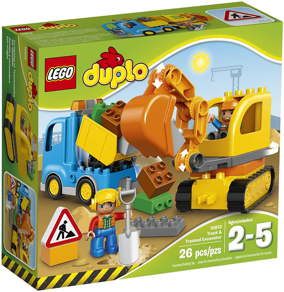 Lego Duplo: Town Truck & Tracked Excavator