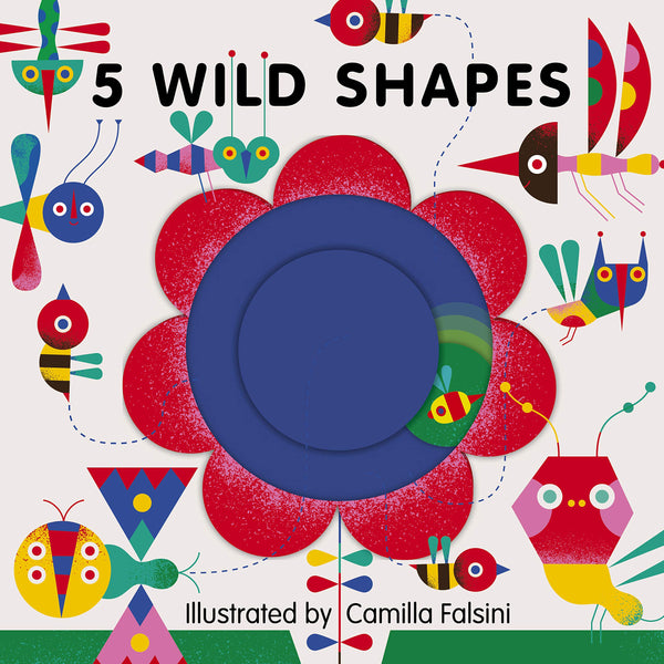 5 Wild Shapes, Board Tracing Book