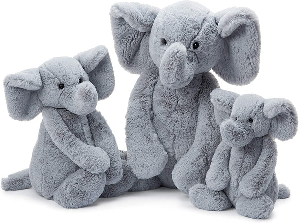 Bashful Elephant Grey (Multiple Sizes)