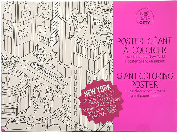 Giant Coloring Poster: New York
