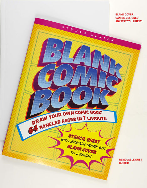 Comic Book Blank (Draw your Own!)