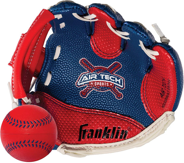 Air Tech Adapt Tee Ball Glove & Ball