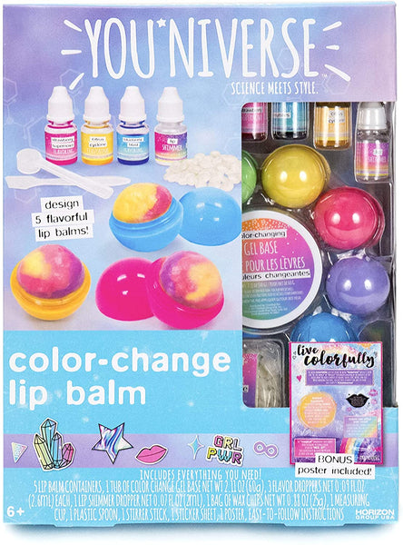Color Changing Lip Balm Kit