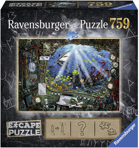 Submarine Escape 759pc Puzzle & Activity