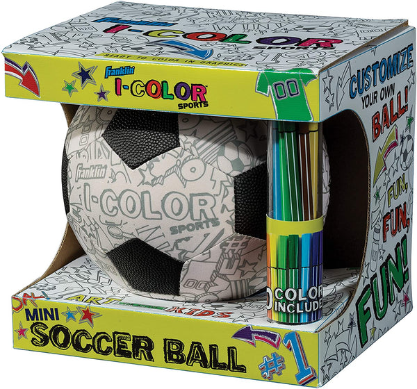 Color Your Own Soccer Ball (I-Color)