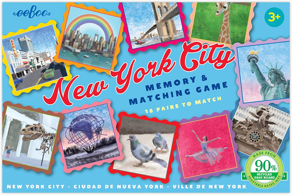 New York City Memory Matching Game