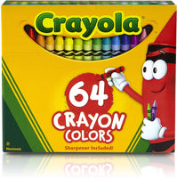 Crayons, Set of 64