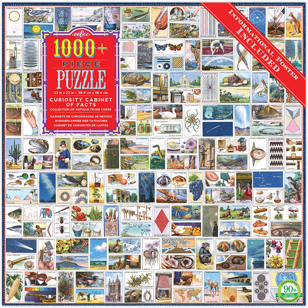 Curiousity Cabinet of Facts 1000pc Puzzle