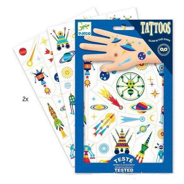 Temporary Tattoos: Space Oddity