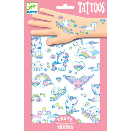 Temporary Tattoos: Unicorn