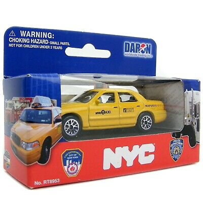 NYC Taxi Die Cast Car