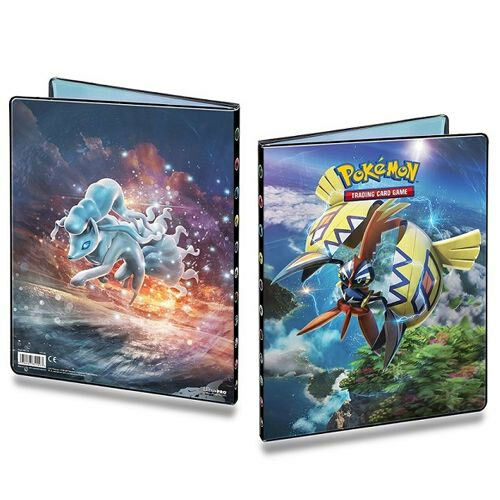 Pokemon Tapu Koko Ninetales 9 Pocket Binder