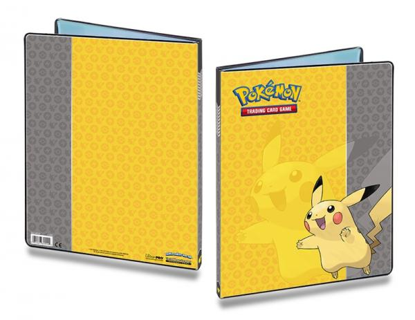 Pokemon Pikachu 9 Pocket Binder