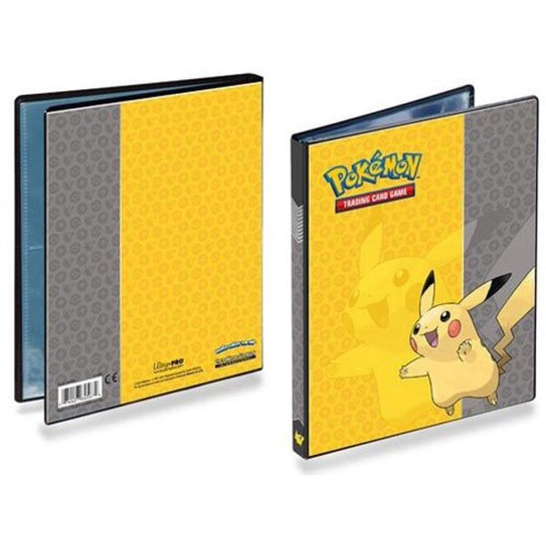 Pokemon Pikachu 4 Pocket Binder