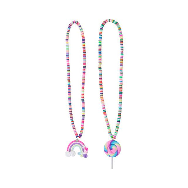 Rainbow Lolly Necklace