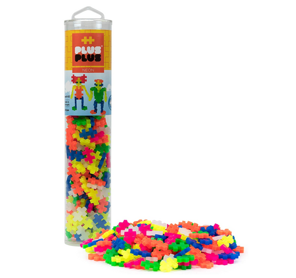 Plus Plus Neon Color Mix, 240 piece set